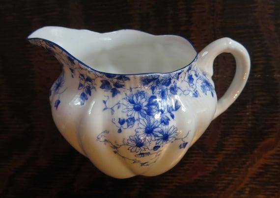 Antique Shelley Dainty Blue Fine Bone China By