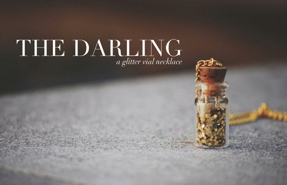 The Darling: A Glitter Vial Necklace