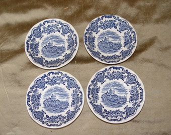 Wedgewood Royal Homes of Britain Small Dessert  Bowls- set of 4