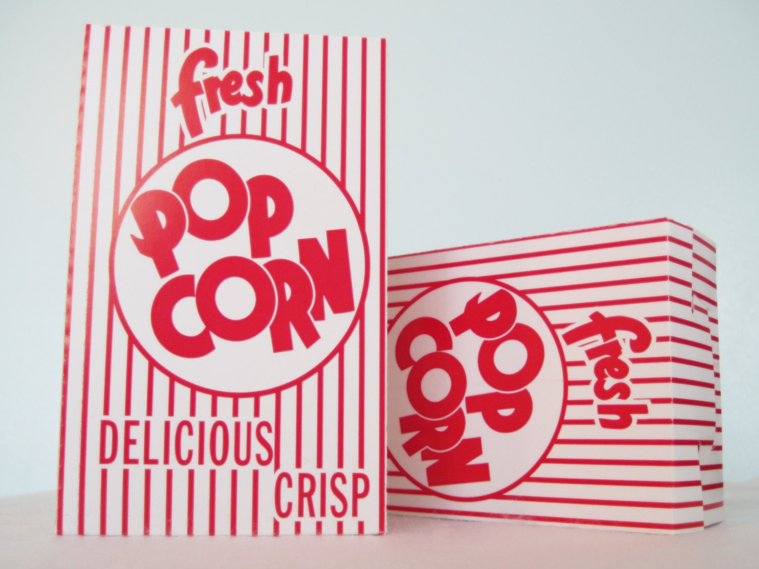 how to make a large popcorn box