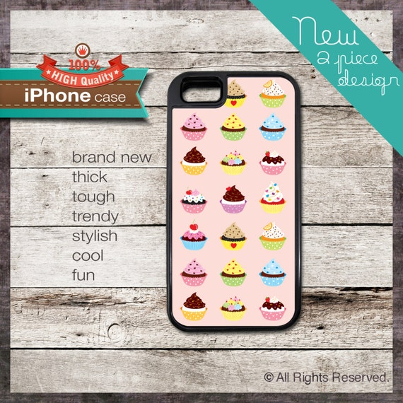 Cupcake Design - - iPhone 6, 6+, 5 5S, 5C, 4 4S, Samsung Galaxy S3, S4 155