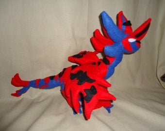 Hand made Dragon plush