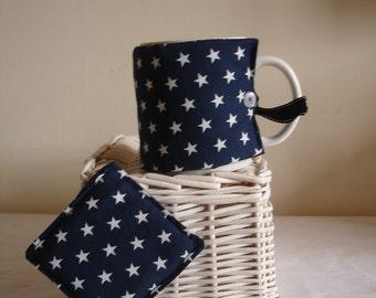 mug cosy and coaster