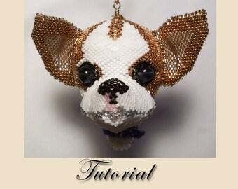 Pattern / Tutorial Beaded Ornament - Dog Balloon