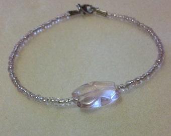 Zahara Collection Pink Butterfly Bracelet