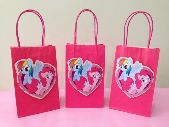 12 My Little Pony Party FavorsTreat Bags By LittleArtistShop