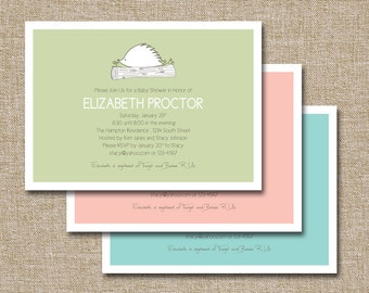 Baby Shower Invitation, Hedgehog . This listing is fully customizable and is for the digital file only.