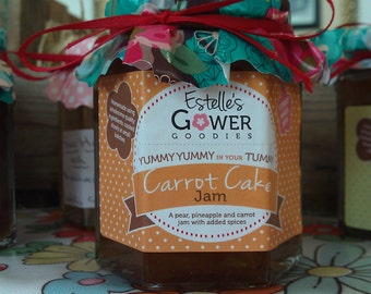 Homemade Carrot Cake Jam