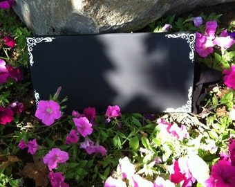 Chalkboards - Wedding Chalkboards --  Wedding Signs - In loving memory - Custom Wood Signs -- Photo Prop