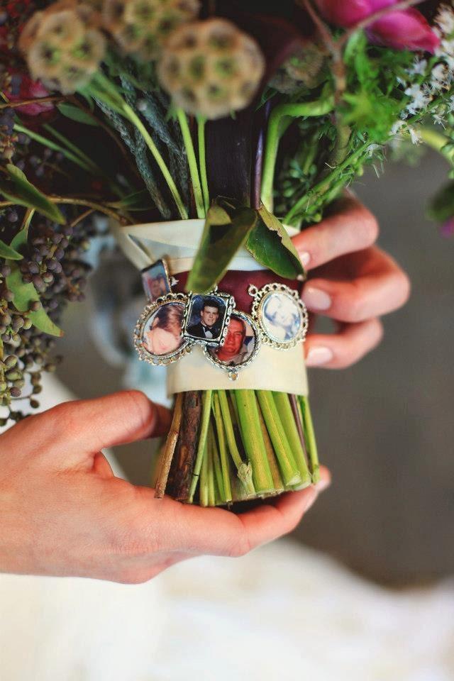 5 kits to make wedding bouquet charms photo pendants charms