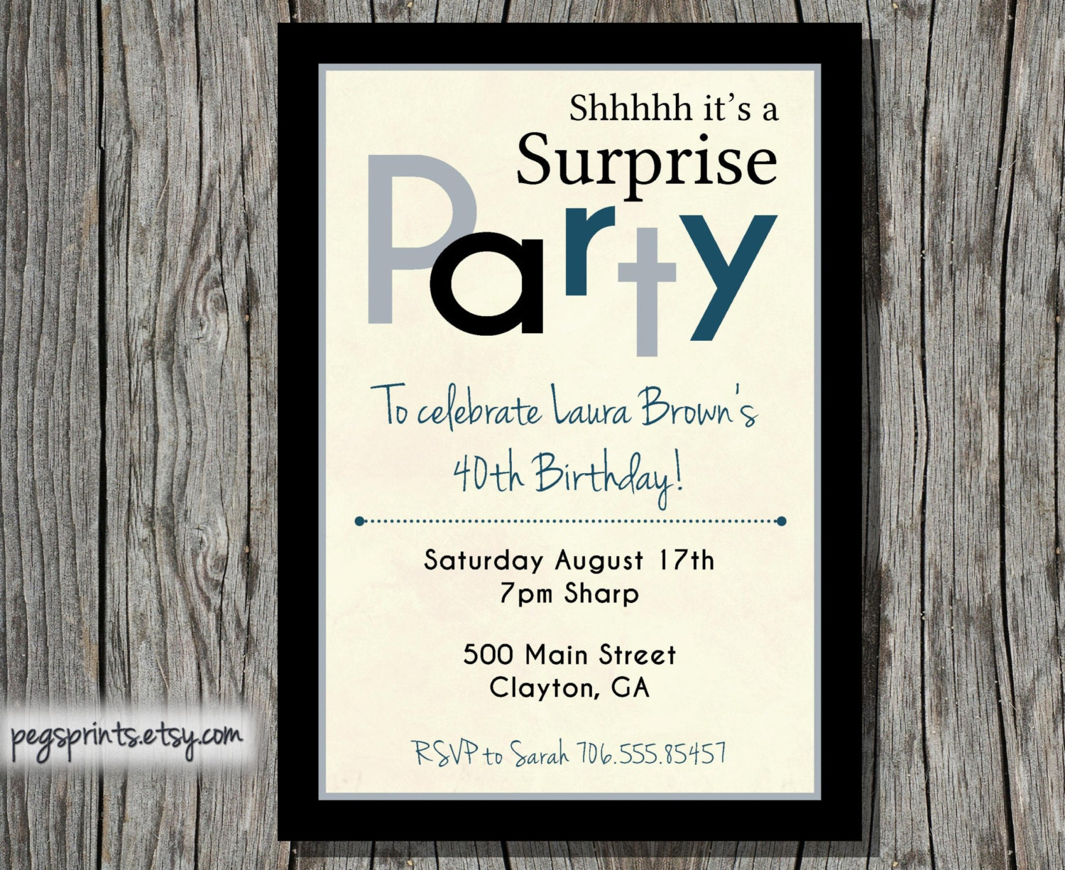 40Th Birthday Invitations with perfect invitations layout