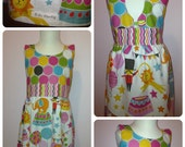 It's A Circus Milly Dress in Bailey Fabric