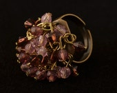 Pink and Purple Crystal C...