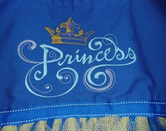 Embroidered PrincessTutu Bag
