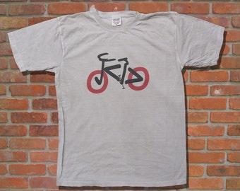 Comic Sans MS Type Bike  Men  Font Art T-shirt