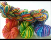 Mini-Skein Set - 10 grams each - Mirth Sock Yarn - 80 Superwash Merino Wool/20 Nylon