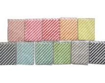 24 x Stripe Lolly Paper Loot Bags Lolly Buffet Wedding Party Dots, FREE Postage Australia Wide