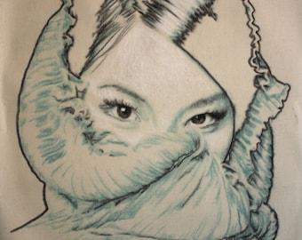 Portrait of Lucy Liu.