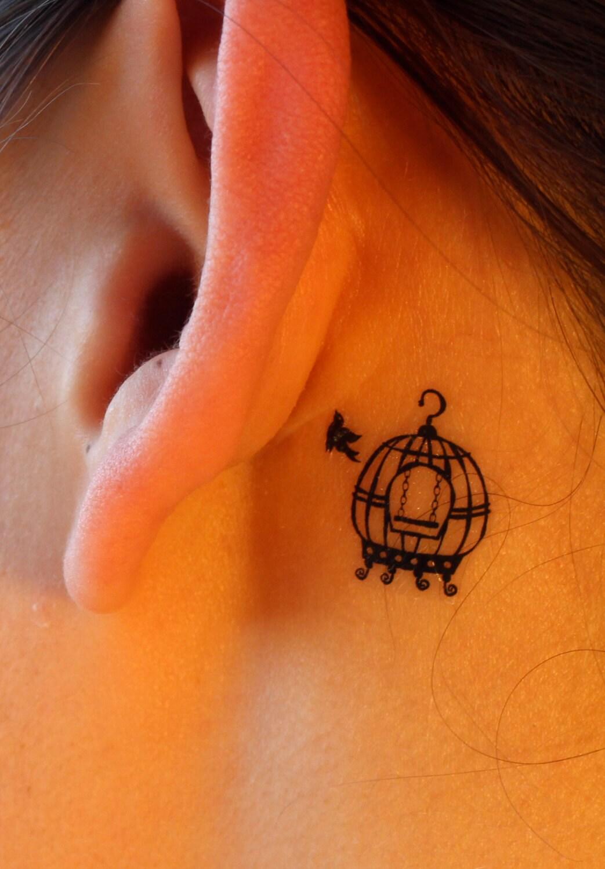 Henna Tattoo Bird Bird and Birdca...