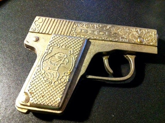 Hubley dick tracy cap gun