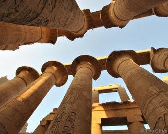 Karnak Temple Luxor Egypt Digital Photo JPG File - FREE SHIPPING - Ready to print digital photography