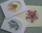 Greeting Cards - Hand Drawn and Watercoloured