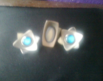 clip on earings and ring