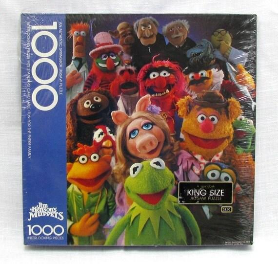 springbok muppets 1000 piece jigsaw puzzle jim henson king