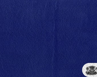 """Minky SOLID Royal Blue Fabric / 58"""" Wide / Sold by the Yard"""