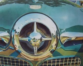 Studebaker Classic Print  - Classic Car Watercolor Print - Studebaker Art