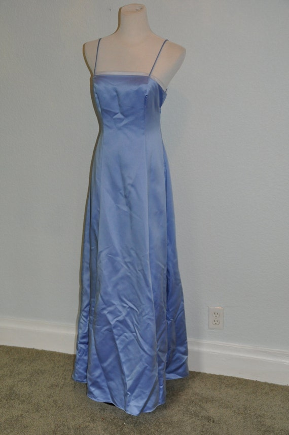 Items similar to 90s Cinderella Blue Prom Dress on Etsy