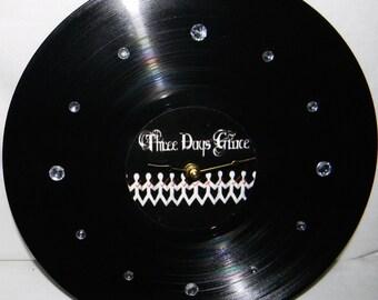 THREE DAYS GRACE Inspired Vinyl Record Wall Clock