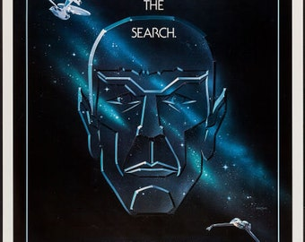 Star Trek III - The Search for Spock  Movie Poster