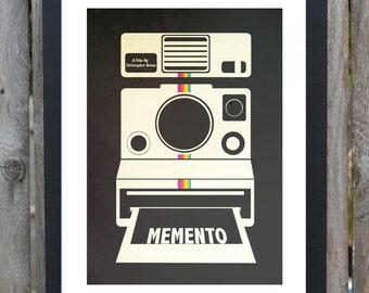 Memento minimalist movie poster