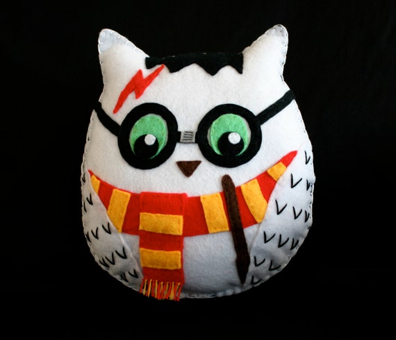 Chouette de harry potter la main sentait en peluche - Harry potter chouette ...