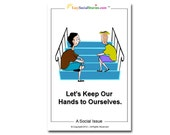 Let's Keep Our Hands to Ourselves - Easy Social Story
