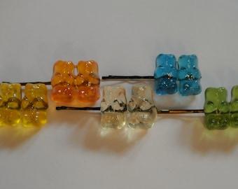 Glitter Bears - haribo sweet hair clip