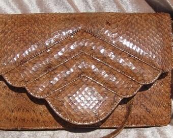 Vintage Handmade Cobra Purse