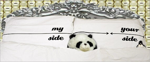 My Side/Your Side Pillowcase Set