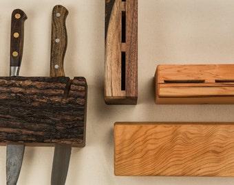 Wooden Hanging Knife Block
