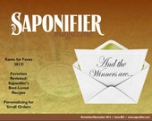 Saponifier Back Issue: No...