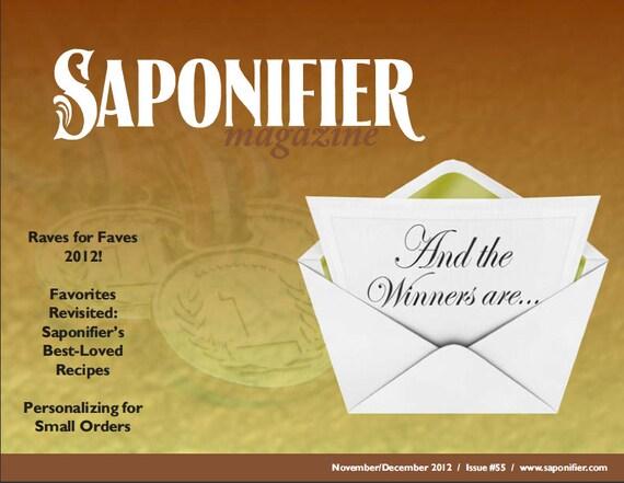 Saponifier Back Issue: Nov/Dec 2012