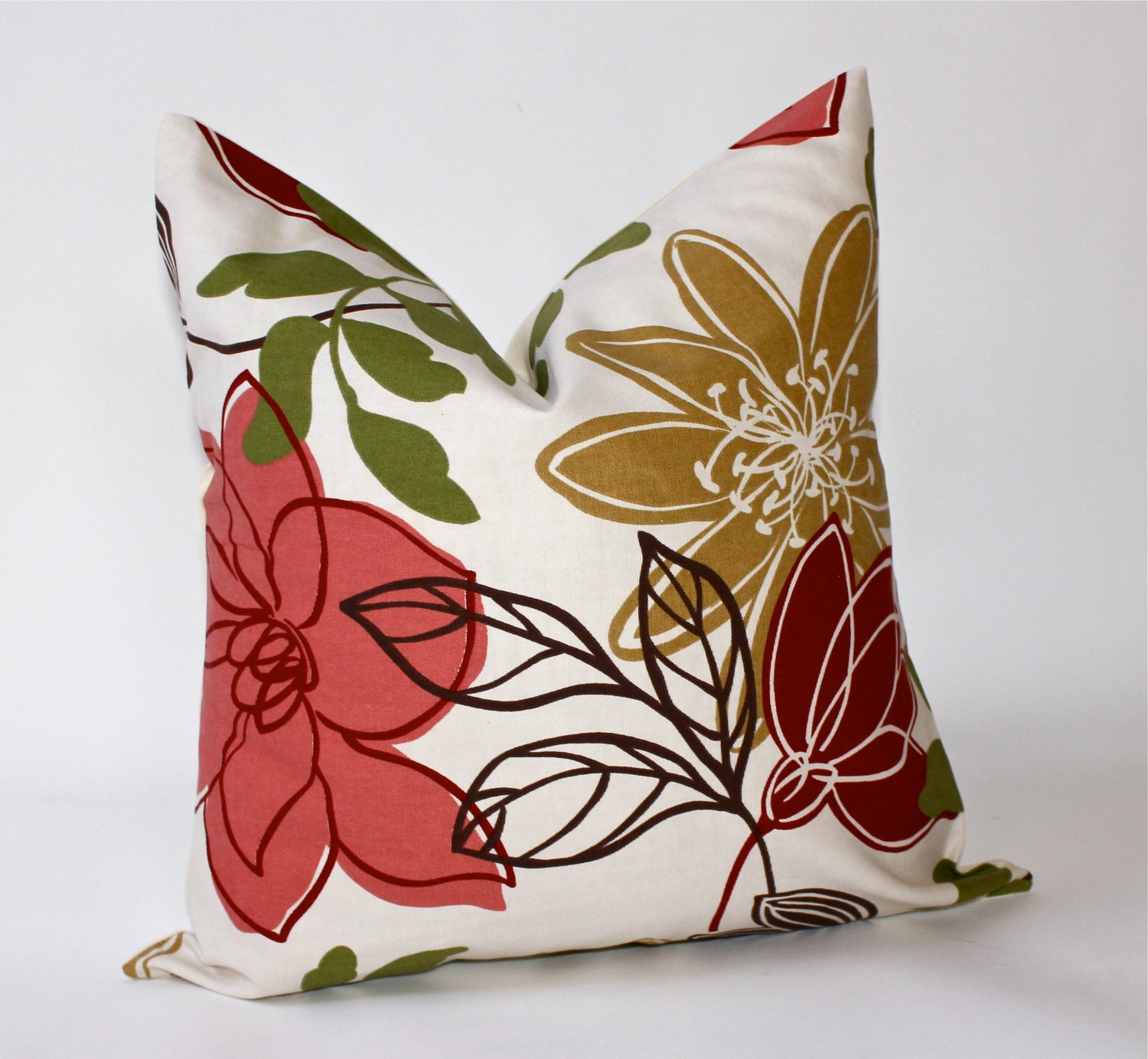 Throw Pillow Covers 18 Inches : 18 x 18 inch Decorative Pillow Cover Multi by ThePillowPalette