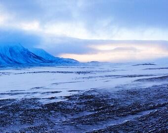 Langjokull Glacier, Iceland.Panoramic Fine Art Photography by Roy Hsu