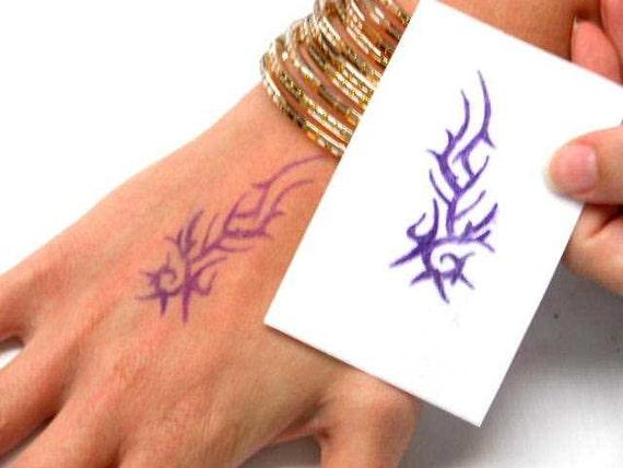 Henna design art tattoo stencil carbon copy spirit master for Diy tattoo transfer paper