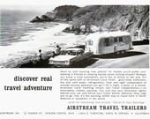 60s Vintage Airstream Travel Trailers/Vintage Travel Ads/Vintage Trailers/Vintage Print Ads/Print Adverts/Advertising/1966 Original Prints
