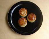 Japanese Wagashi: Baked Manju sweet bean cake