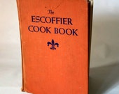 Vintage Escoffier Cook Book 1947