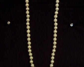 faux white pearls #22