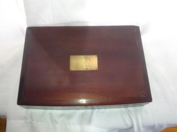 Pacific Silver Cloth Sterling Silver Flatware Storage Box
